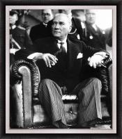 Siyah Beyaz Atatürk Portresi - ATA06-Ç