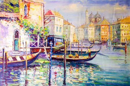 Tekneler ve Evler resim