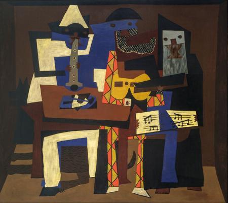 Üç Müzisyen - Three Musicians resim