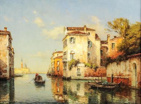 Venedik Sahnesi resim