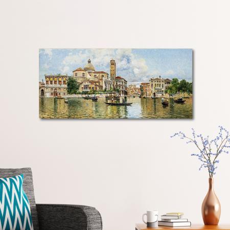 Venedik'teki Kanal resim2