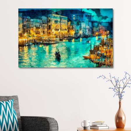 Venedik ve Gondollar resim2