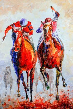 Yarışan Atlar resim
