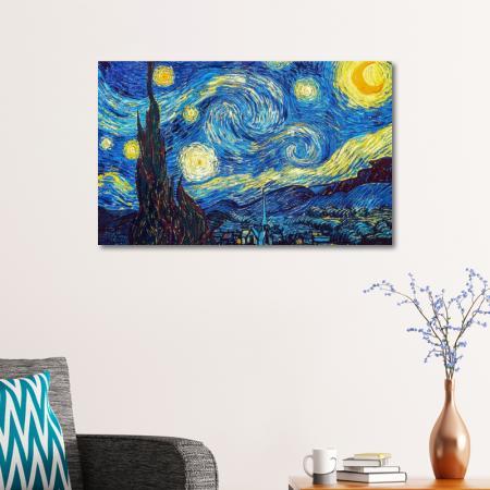 Yıldızlı Gece - The Starry Night resim2