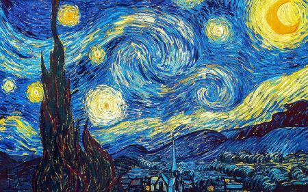 Yıldızlı Gece - The Starry Night resim