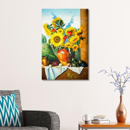 At Çiçeği ve Meyveler resim2