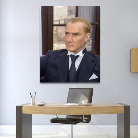 Atatürk Portresi Balmumu resim2