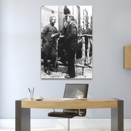Atatürk ve İsmet İnönü Tablosu resim2