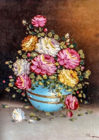 Bahar Çiçekleri Buketi resim
