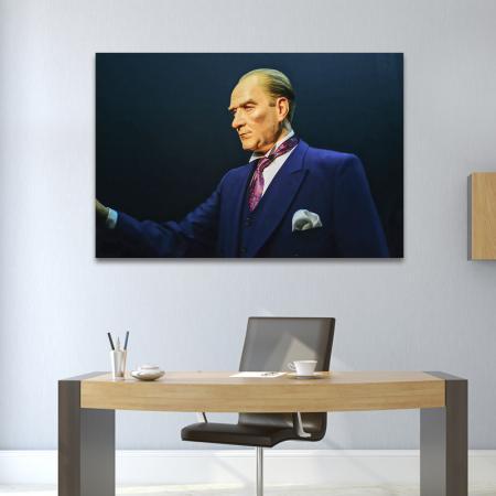 Balmumu Atatürk Tablosu resim2
