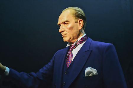 Balmumu Atatürk Tablosu resim