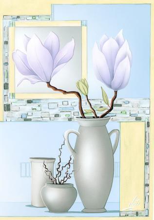 Beyaz Çiçek resim