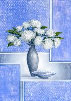 Beyaz Çiçekler - CT-C-040