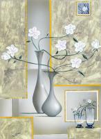 Beyaz Çiçekler - CT-C-064