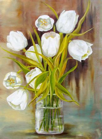 Beyaz Laleler resim