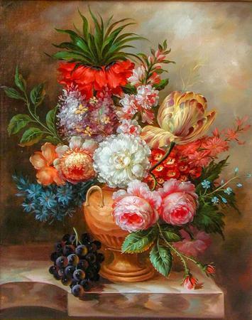 Çiçek ve Meyveler resim