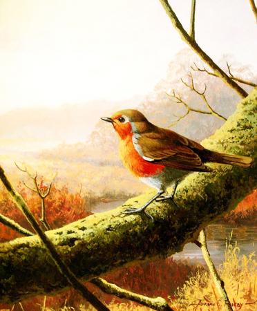 Daldaki Minik Kuş resim