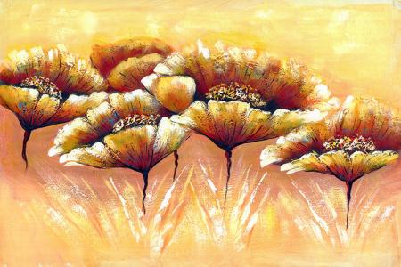 Kahverengi Çiçek 0