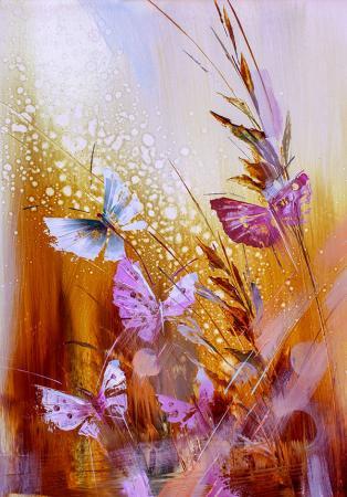 Kelebekler resim