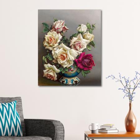 Kırmızı Beyaz Güller resim2