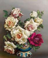 Kırmızı Beyaz Güller - CT-C-084
