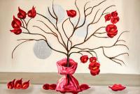 Kırmızı Çiçek - CT-C-268