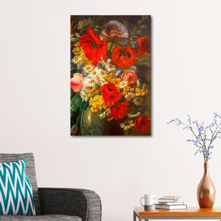 Kırmızı Çiçekler resim2