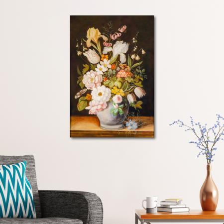 Klasik Çiçek Tablosu resim2