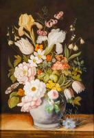 Klasik Çiçek Tablosu - CT-C-069