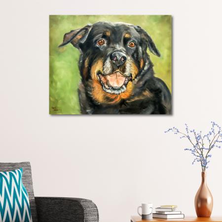 Köpek Portresi resim2