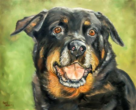 Köpek Portresi resim