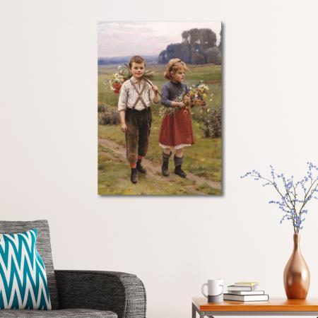 Köy Yolunda Çocuklar resim2
