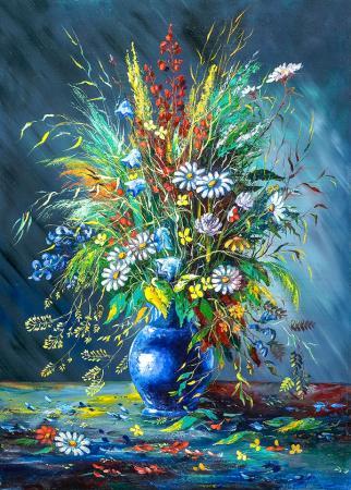 Kuru Çiçek Buketi resim