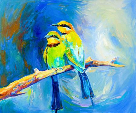 Kuşlar resim