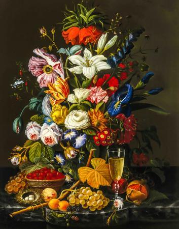 Meyve ve Çiçekler resim
