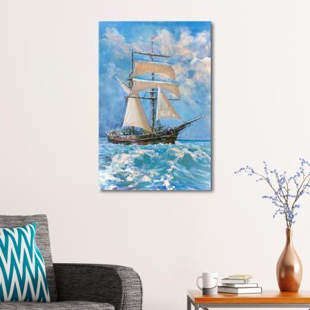 Okyanusta Yelkenli resim2