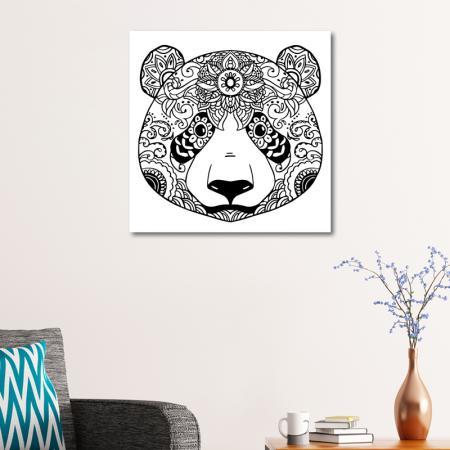Pandalı Boyama Tablo resim2