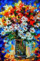 Papatyalar ve Renkli Bahar Çiçekleri - CT-C-098