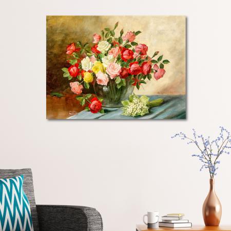 Pembe ve Kırmızı Güller resim2