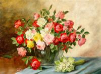 Pembe ve Kırmızı Güller - CT-C-030