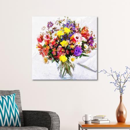 Rengarenk Çiçek Buketi resim2
