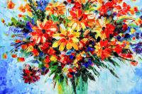 Rengarenk Çiçekler - CT-C-071