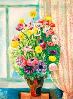 Rengarenk Çiçekler - CT-C-083