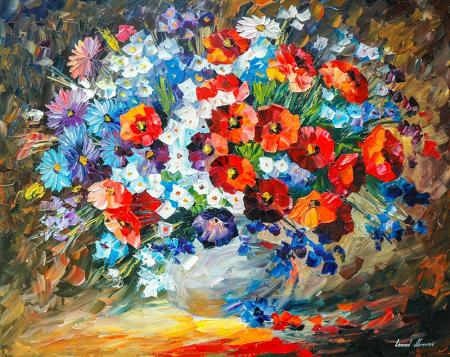 Rengarenk Çiçekler 0
