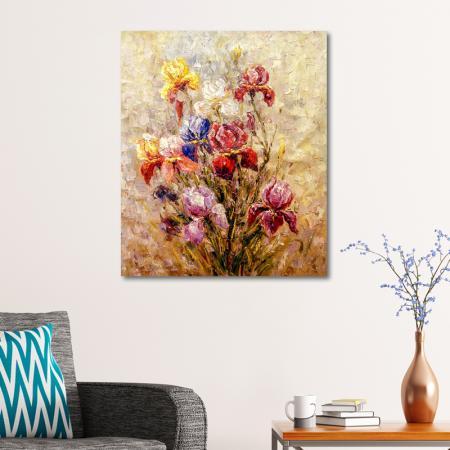 Rengarenk Çiçekler resim2