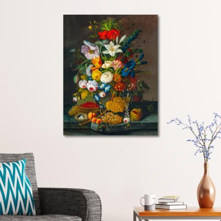 Rengarenk Çiçekler ve Meyveler resim2