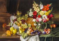 Rengarenk Çiçekler ve Meyveler - CT-C-016