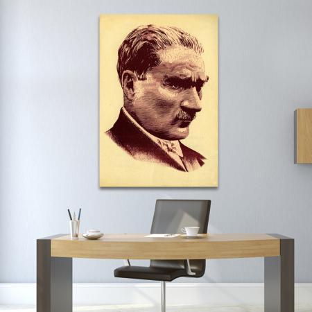 Renkli Atatürk Portresi resim2