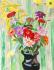Renkli Bahar Çiçekleri k0