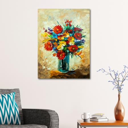 Renkli Çiçek Buketi resim2